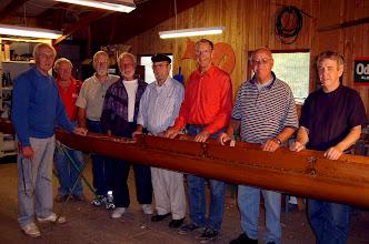 Photo: 2004 Odense Roklubs arbejdsmænd - kaldet tirsdagsholdet.