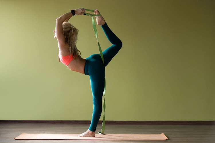 Yoga straps help you out when you can't quite stretch far enough to fully get into a pose.