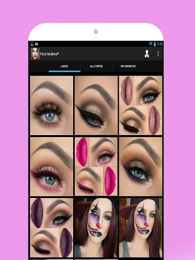 Face Makeup Pictures 1.7 screenshots 5