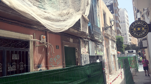La calle Trajano contará con un nuevo edificio donde estuvo el pub Jarapa