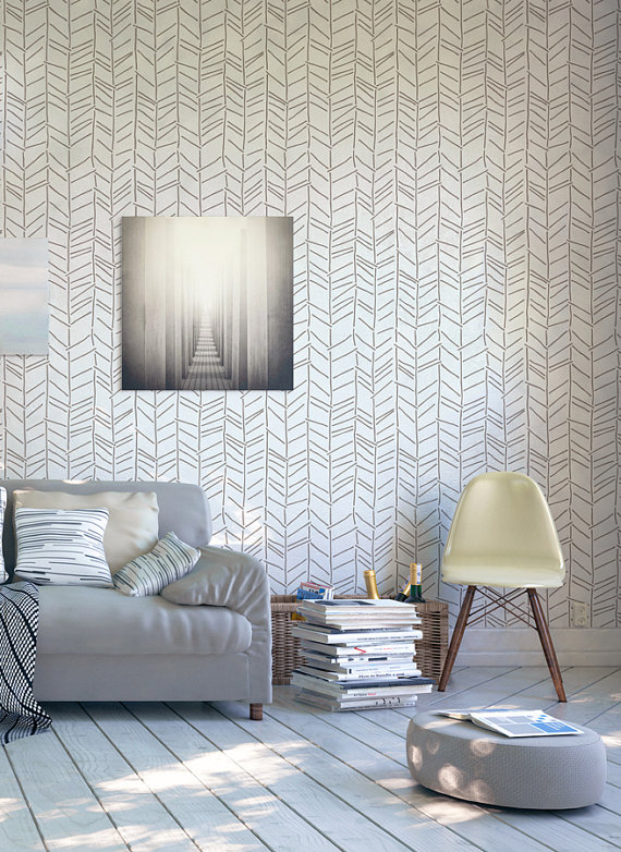 Painted Wall You Can DIY