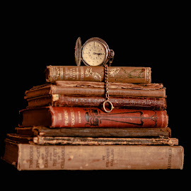 Words of Time by Debbie Slocum Lockwood - Artistic Objects Still Life
