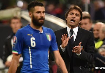 Antonio Conte fait des essais