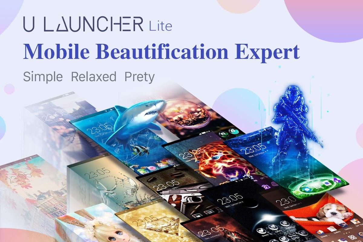 U Launcher Lite – FREE Live Cool Themes, Hide Apps screenshots