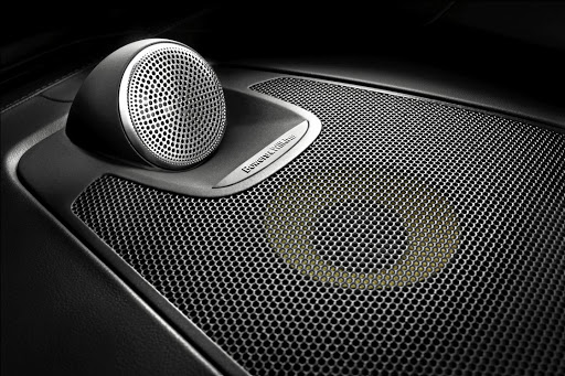 The Bowers & Wilkins premium sound system will please audiophiles.