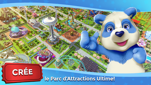 RollerCoaster Tycoon Touch - Parc d'attractions  captures d'u00e9cran 1