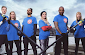 BBC and ITV stars take part in charity boat race