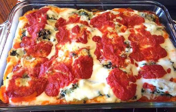 Cannelloni (stuffed Shells) In Tomato-cream Sauce Recipe