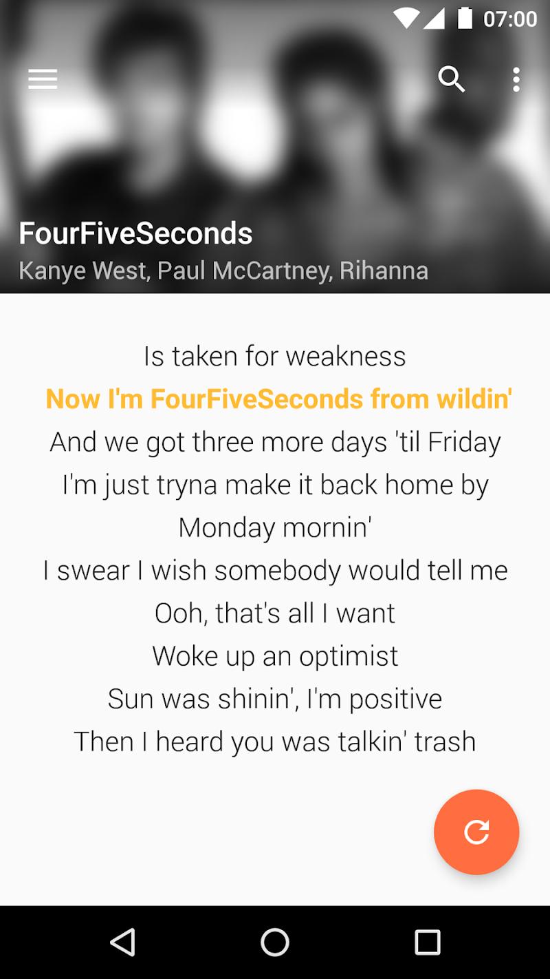 QuickLyric - Instant Lyrics Screenshot 5