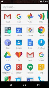 Marshmallow Launcher Screenshot