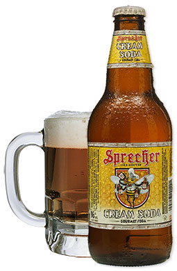 Logo for Sprecher's Cream Soda