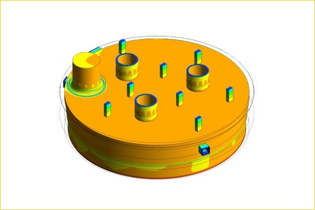 ANSYS - Тепловой расчет очистки электрической печи от шлака