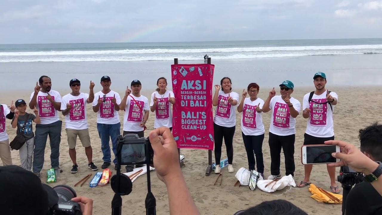 komunitas bersih pantai terbesar di bali