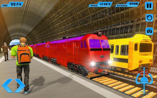 Modern Train Driving Simulator: City Train Games 2.1 de.gamequotes.net 4