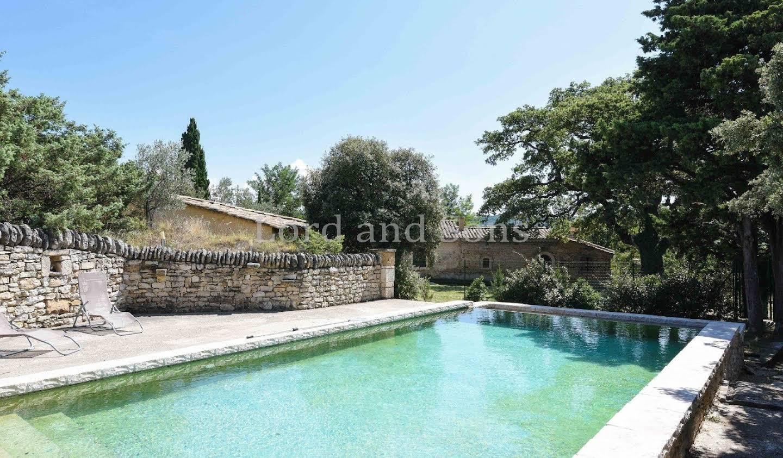 Propriété avec piscine Saint-Pantaléon-les-Vignes