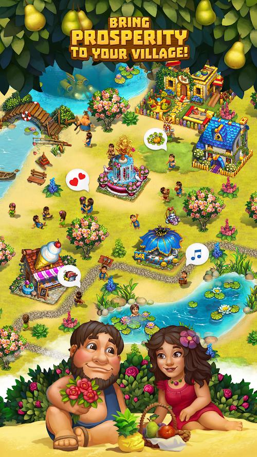 Screenshot 3 The Tribez: Build a Village 9.5.2 APK MOD