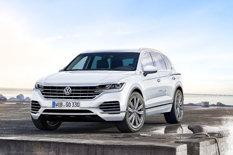 Our artist's rendition of the new Touareg that is due in SA in the third quarter of 2018.    Picture: SPIDEBILDE/BRIAN WILLIAMS PHOTOGRAPHY
