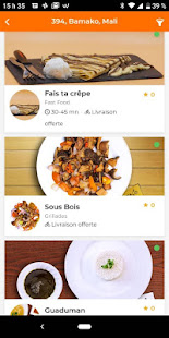 FIKASO - Livraison de Repas et de Courses for PC-Windows 7,8,10 and Mac apk screenshot 2
