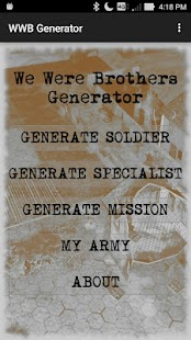We Were Brothers Generator - náhled