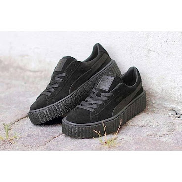 Fenty x Puma Suede Creeper Black
