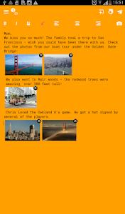 Spletter - send mail & photos screenshot 13