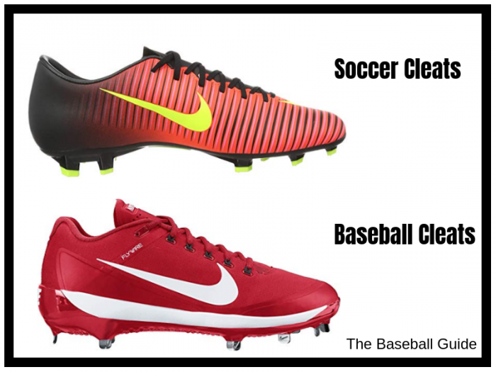 Image result for Can I use my football cleats for baseball or soccer?