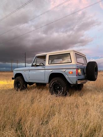Classic Ford Bronco Hire CA