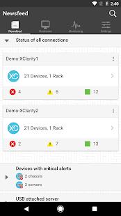 Lenovo XClarity Mobile - náhled