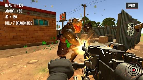 Monster Killing City Shooting II - náhled