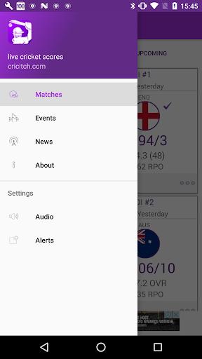 Live cricket scores cricitch 12.2.0 screenshots 3