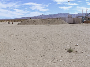 Photo: The bunkers we watched the rocket launches from.