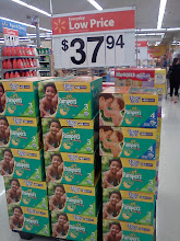 Photo: I love that Walmart carries all kinds of diapers. They really have a great selection.
