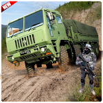 Army Truck Mountain Drive 3D Icon