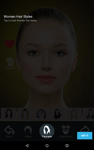 Hairstyle Changer App Virtual Makeover Women Men On Google Play