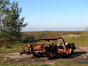 Photo: Piękny sportowy samochód na szczycie łagiewnickiego wzgórza (Łódź)