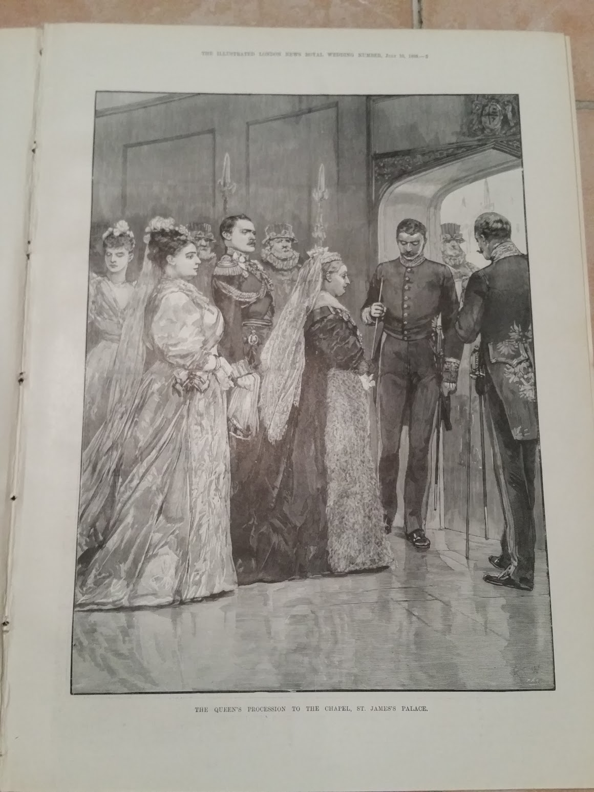 Illustrated London News - Wedding Number - Hochzeit König George und Mary - 6. Juli 1893 - St. James's Palace