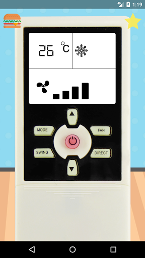 remote control for voltas air conditioner screenshot 1