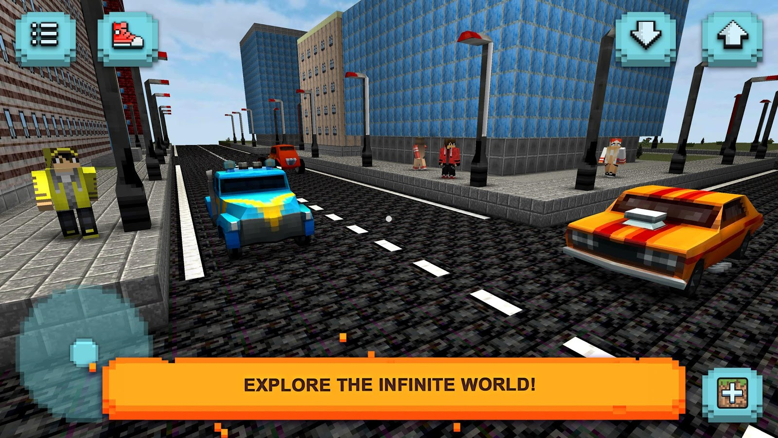 Car craft traffic race exploration driving run for Crafting and building app store