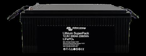 Victron Lithium SuperPack 12,8V/200Ah (M8)