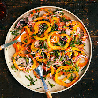 Sweet Bell Pepper and Onion Salad.