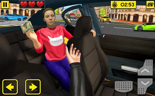 City Taxi Driving Sim 2020: Free Cab Driver Games modavailable screenshots 4