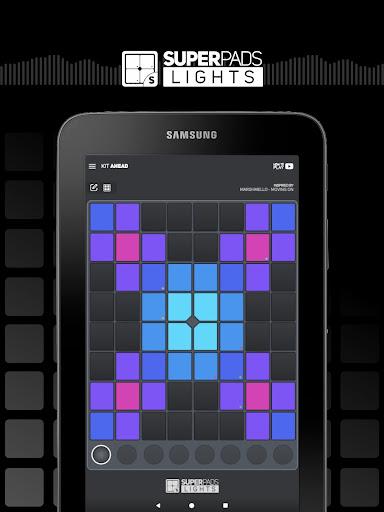 SUPER PADS LIGHTS - Your DJ app 1.6.9.5 Screenshots 13