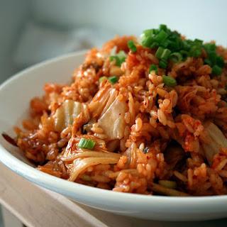 Kimchi Fried Rice (Kimchi Bokumbap).