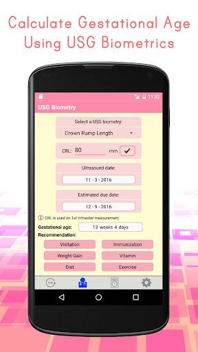 Pregnancy Calculators: Due Date & Gestational Age 2.4 screenshots 2