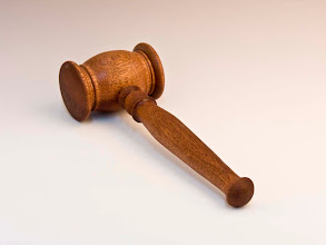 "Photo: Bill Autry - Gavel - 11 1/2"" Length, 4"" x 2 1/2"" Head - Utile"