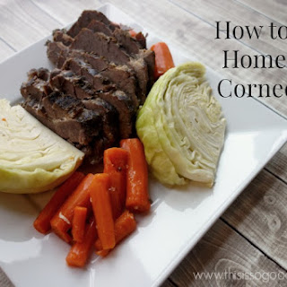 How to Make Homemade Corned Beef (Instant Pot and Slow Cooker Directions)