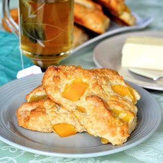 Mango and Cream Cheese Scones