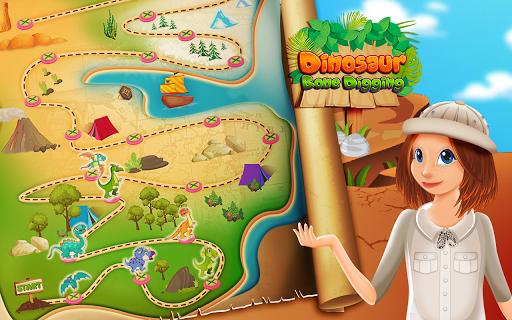Dinosaur Bone Digging Games  screenshots 1