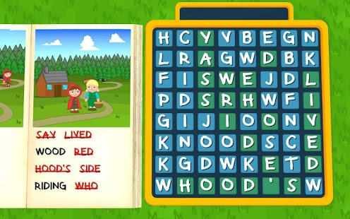 Red Riding Hood - Wordsearch- screenshot thumbnail
