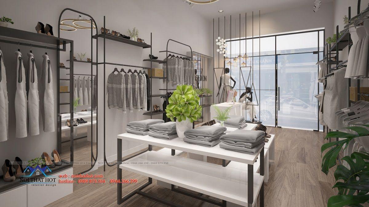 thiết kế shop thời trang hoài đức 12